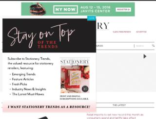 stationerytrendsmagazine.com screenshot