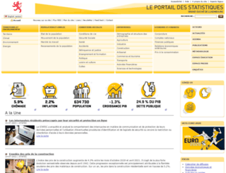 statistiques.public.lu screenshot