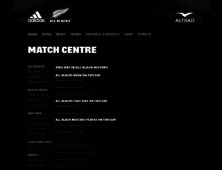 stats.allblacks.com screenshot
