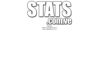 stats.com.ve screenshot