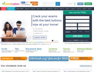 stats.meritnation.com screenshot