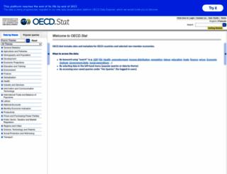 stats.oecd.org screenshot