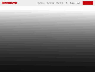 statsbomb.com screenshot