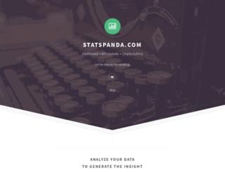 statspanda.com screenshot