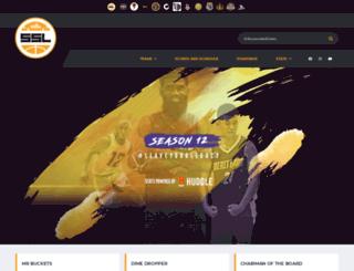 statsportsleague.com screenshot