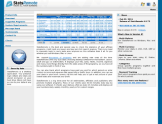 statsremote.net screenshot