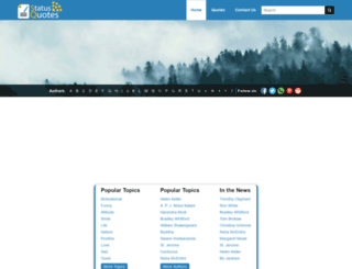 status-quotes.com screenshot