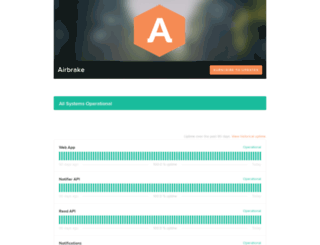 status.airbrake.io screenshot