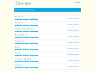 status.assetserv.com screenshot