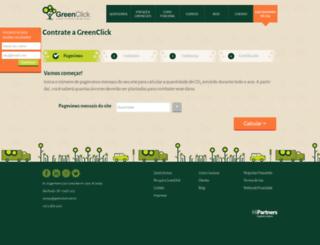 status.greenclick.com.br screenshot