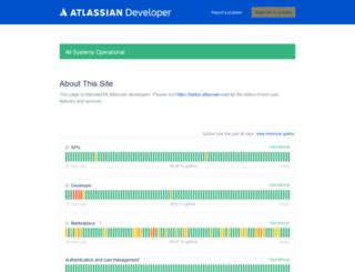 status.marketplace.atlassian.com screenshot