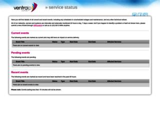 status.ventraip.com.au screenshot
