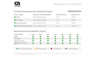 status.watchmouse.com screenshot