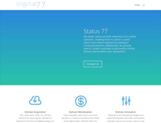 status77.com screenshot
