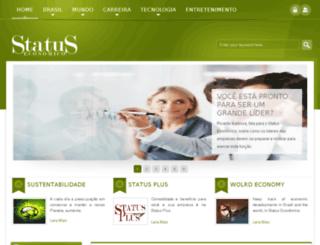 statuseconomico.com.br screenshot