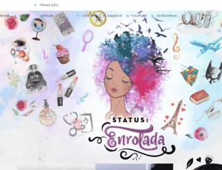 statusenrolada.com.br screenshot
