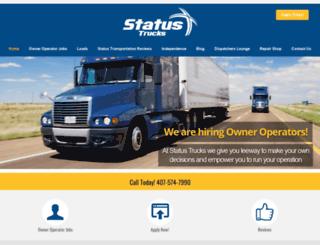 statustrucks.com screenshot