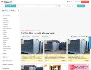 stavba-dum-zahrada.bazar.cz screenshot