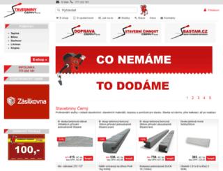 stavebniny-cerny.cz screenshot