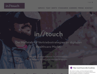 stay-intouch.com screenshot