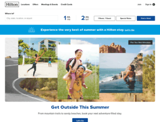 stay.hilton.com screenshot