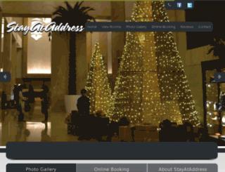 stayataddress.com screenshot