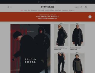 stayhard.no screenshot