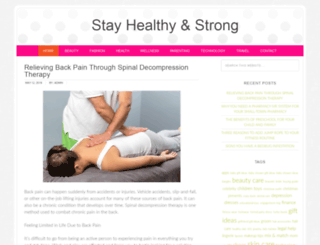 stayhealthyandstrong.com screenshot