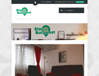 stayinbucharest.com screenshot