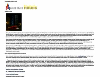 stayinzurich.com screenshot