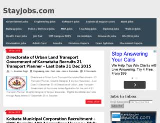 stayjobs.com screenshot
