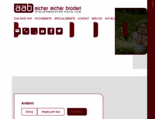 stb-aab.de screenshot