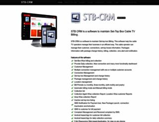 stbcrm.com screenshot