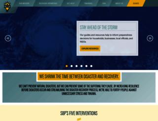 stbernardproject.org screenshot