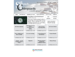 stchiropractic.com screenshot