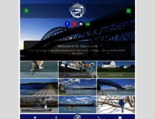 stclaircounty.org screenshot