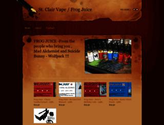 stclairvape.weebly.com screenshot
