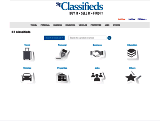stclassifieds.sg screenshot
