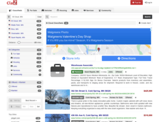 stcloud.claz.org screenshot