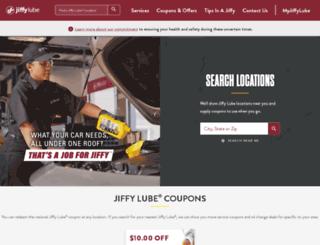 stcmgmt.jiffylube.com screenshot