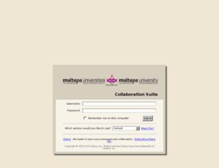 std.maltepe.edu.tr screenshot