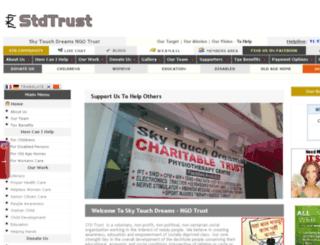 stdtrust.org screenshot