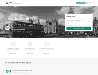 steads.co.uk screenshot