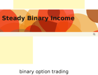 steadybinaryincome.com screenshot