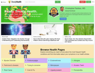 steadyhealth.com screenshot