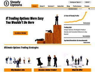 steadyoptions.com screenshot