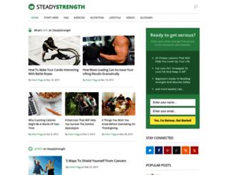 steadystrength.com screenshot