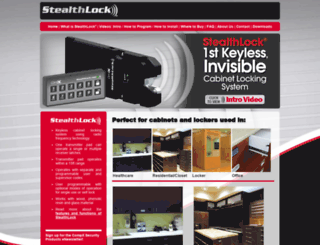 stealthlock.com screenshot