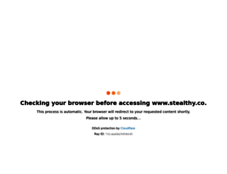 stealthy.co screenshot