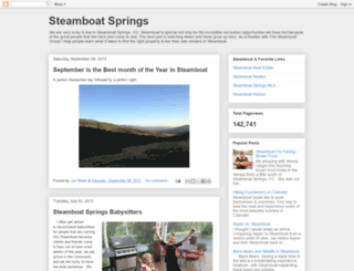 steamboat-springs.blogspot.com screenshot